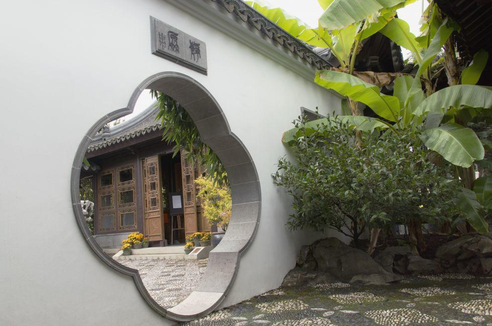 Gateway, Lan Su Chinese Garden, Portland, Oregon, USA