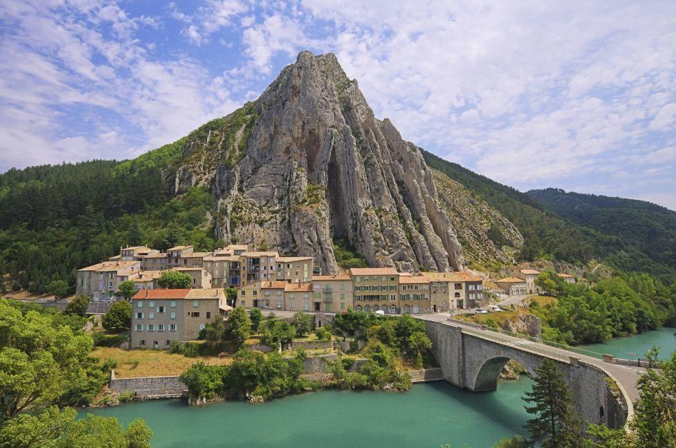 Mountain, Sisteron, Provence, France