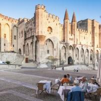 Palace of the Popes, Avignon, Provence, France