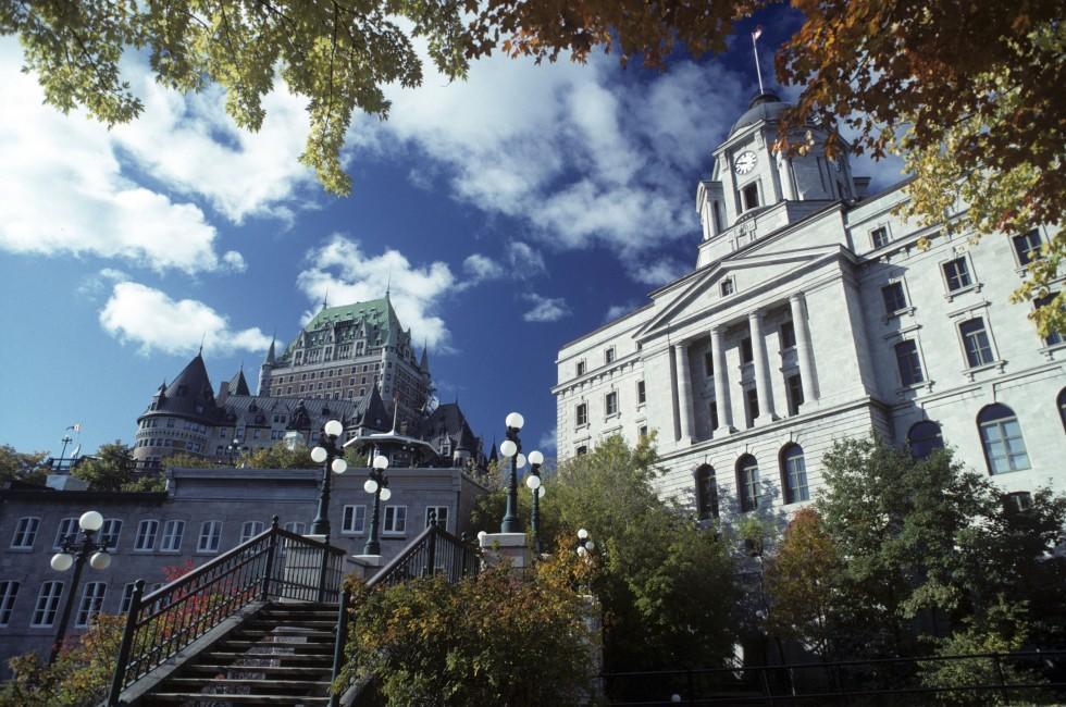 Building, Quebec City, Quebec, Canada