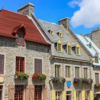 Downtown architecture, Quebec City, Quebec, Canada