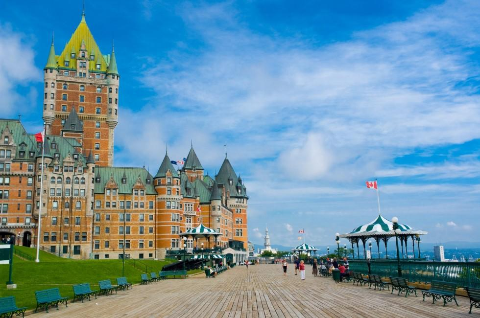 Fairmont Le Chateau Frontenac, Quebec City, Canada