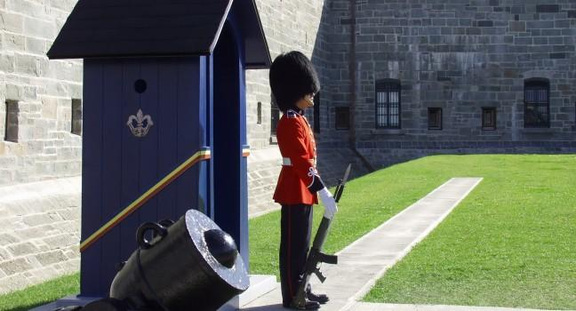 Guard, La Citadelle, Quebec City, Canada