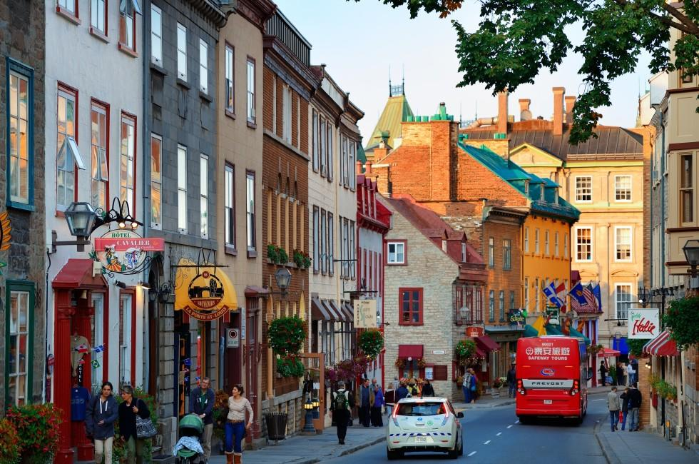 Street, Upper Town, Quebec City, Canada
