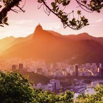 Cityscape, Corcovado, Rio de Janeiro, Brazil