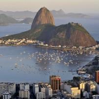 Cityscape, Harbor, Sugar Loaf Mountain, Rio de Janeiro, Brazil