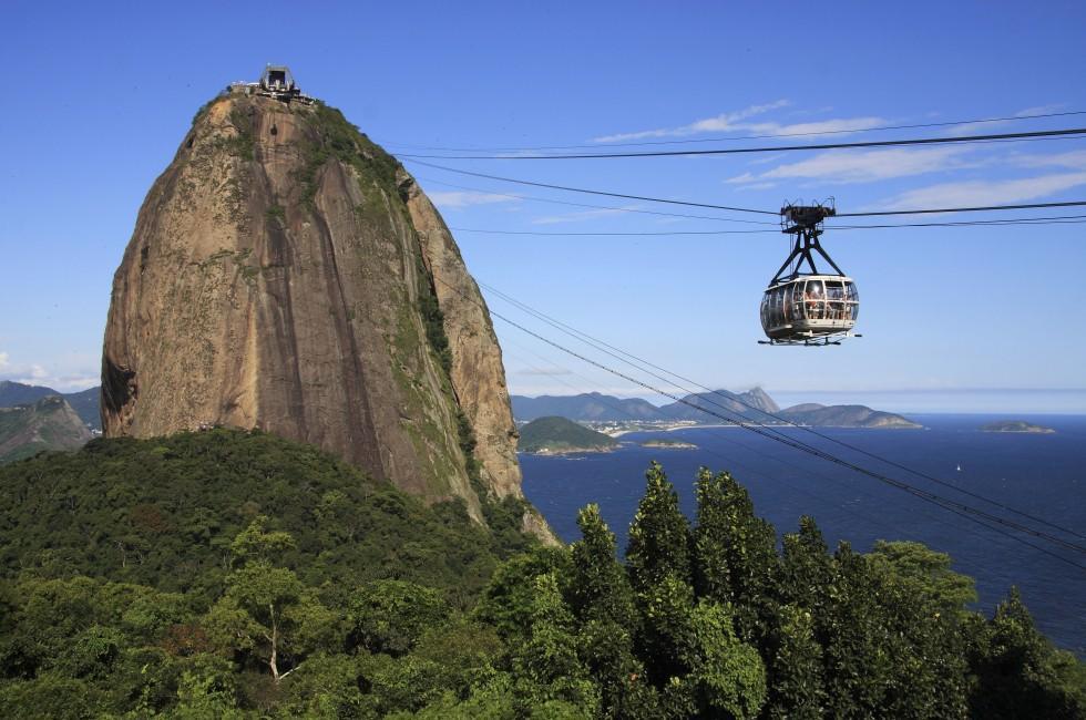 Sugar Loaf Mounain, Cable Car, Rio de Janaeiro, Brazil