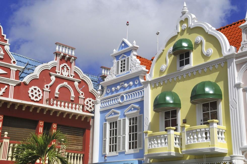 Center square, Oranjestad, Aruba, Caribbean