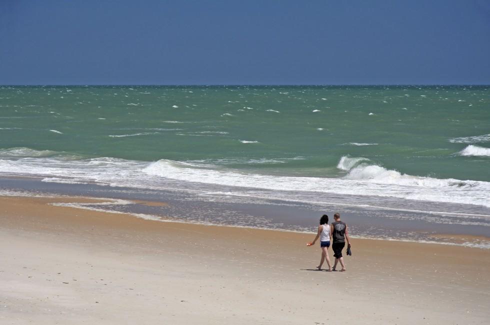 Couple, Beach, Aruba, Caribbean