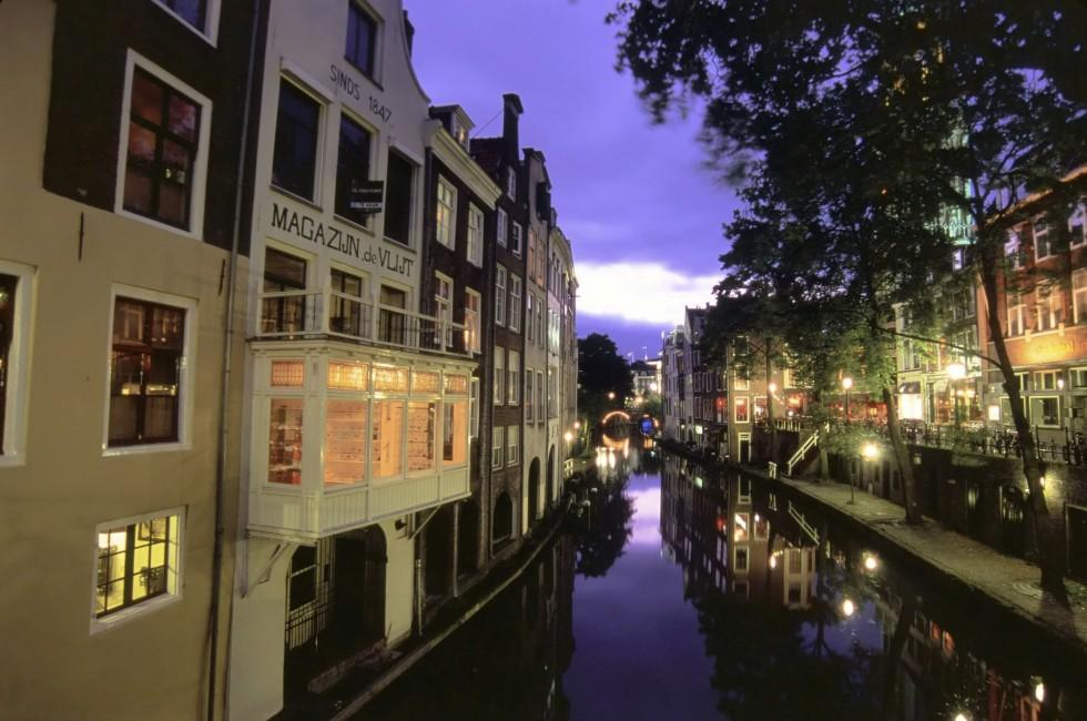 Canal Houses, Utrecht, Holland