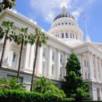 Capitol Building, Sacramento and the Gold Country, California, USA