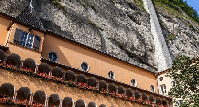 Monchsbergaufzug, Salzburg, Austria