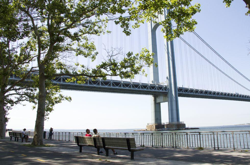 Shore Road Park, Verrazano–Narrows Bridge, Bay Ridge, Brooklyn, New York City, New York