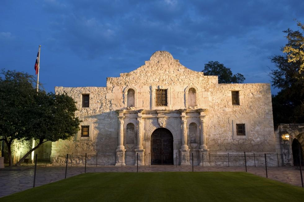 Alamo Mission, San Antonio, Texas, USA