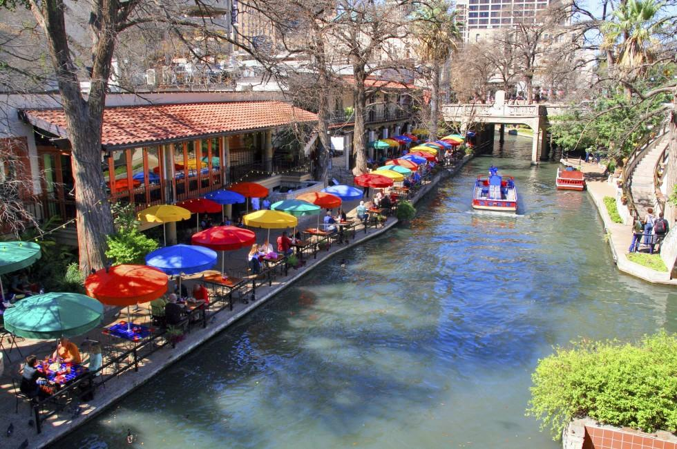 San Antonio River Walk, San Antonio, Texas, USA