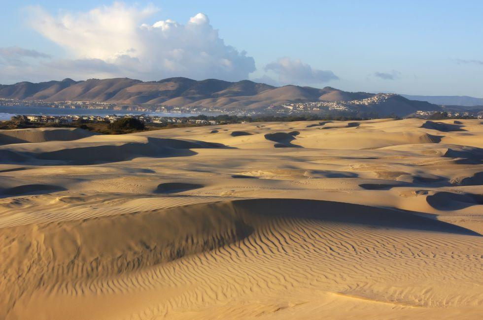 Desert, Landscape, Oceano Dunes, Oceano Dunes State Vehicular Recreation Area, Santa Barbara and the Central Coast, California, USA