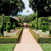 Garden, Lotusland, Santa Barbara and the Central Coast, California, USA