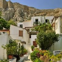 Houses, Anafiotika, Plaka, Athens, Greece