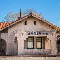 The Santa Fe Train Station, Visitor Center, Railway Yard, Santa Fe, New Mexico