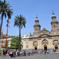 Cathedral, Plaza de Armas, Santiago, Chile