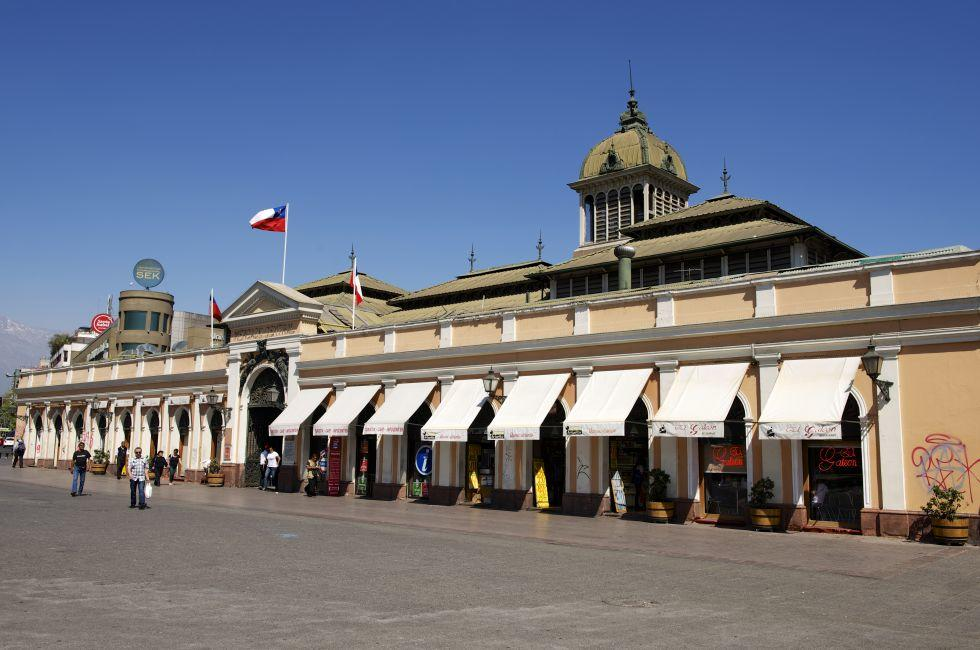 Central Market, Santiago, Chile