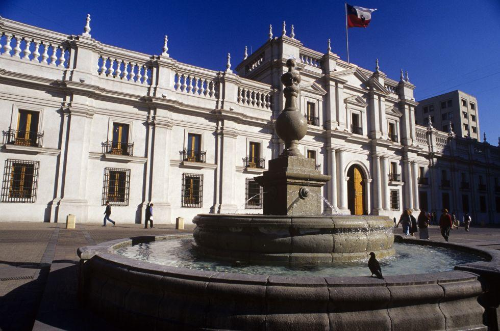 La Moneda Palace, Santiago, Chile