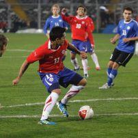 Soccer Game, Chile and Estonia, Santiago, Chile