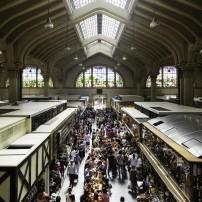 Crowd, Municipal Market, Sao Paulo, Brazil