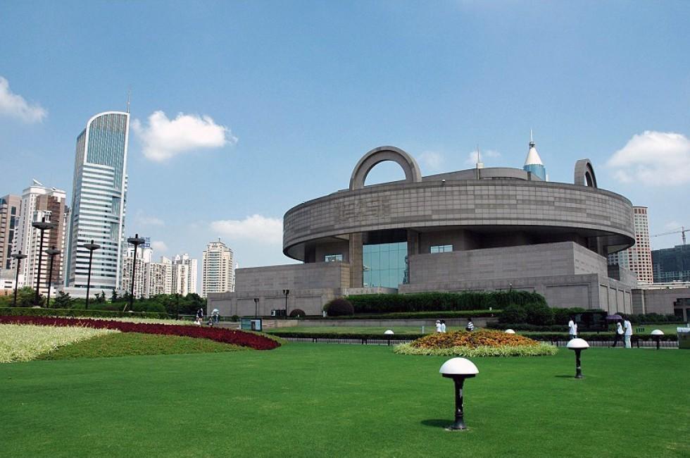 Exerior, Shanghai Museum, Shanghai