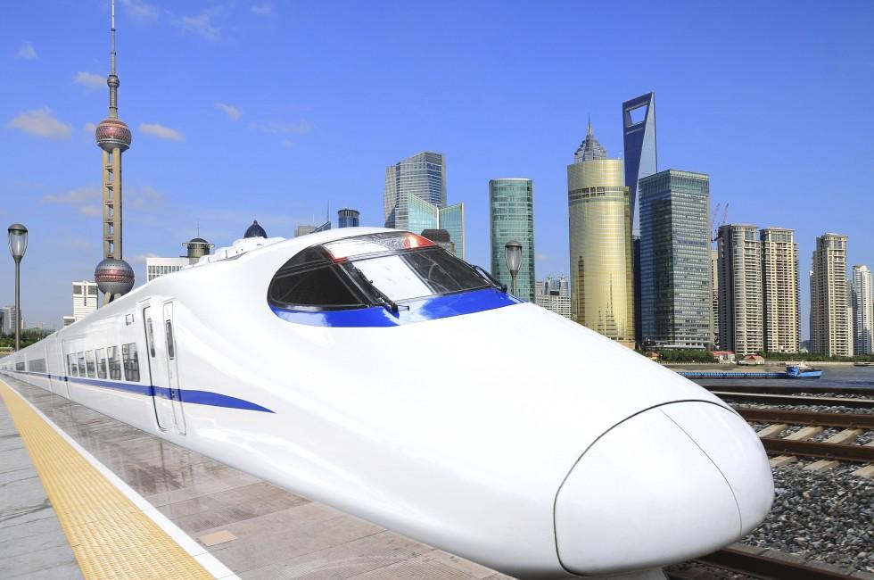 High-speed Trains, Shanghai Lujiazui City