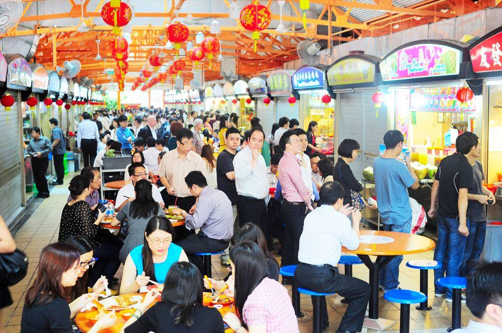 Hawker Food Stalls, Singapore
