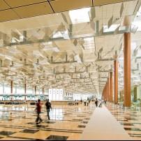 Interior, Changi Airport, Singapore