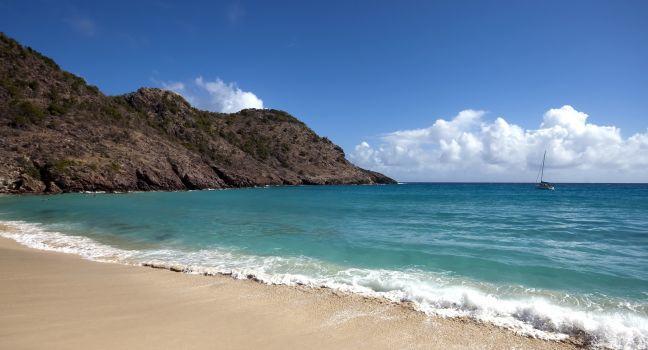 Anse de Gouverneur, St. Barthelemy, Caribbean