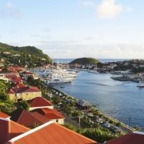 Harbor, Boats, St. Barts, Caribbean