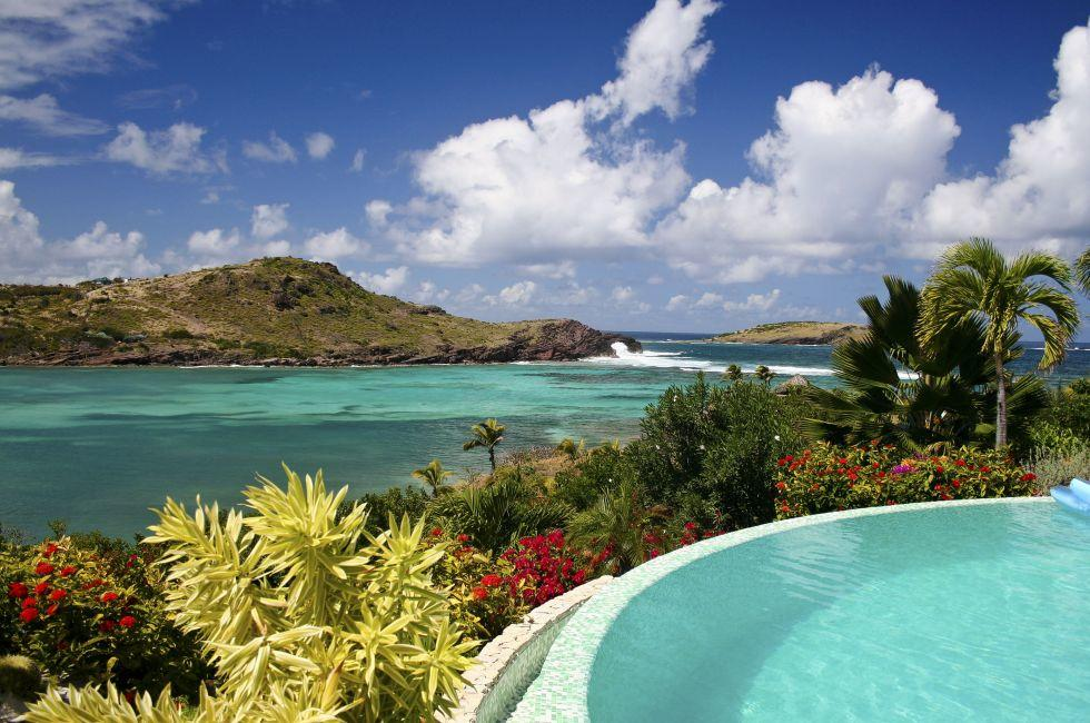 Swimming Pool, St. Barts, Caribbean