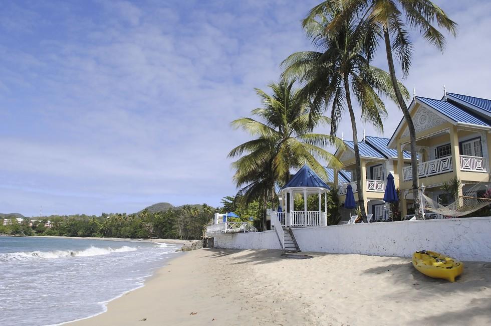 Halcyon Beach, St. Lucia, Caribbean