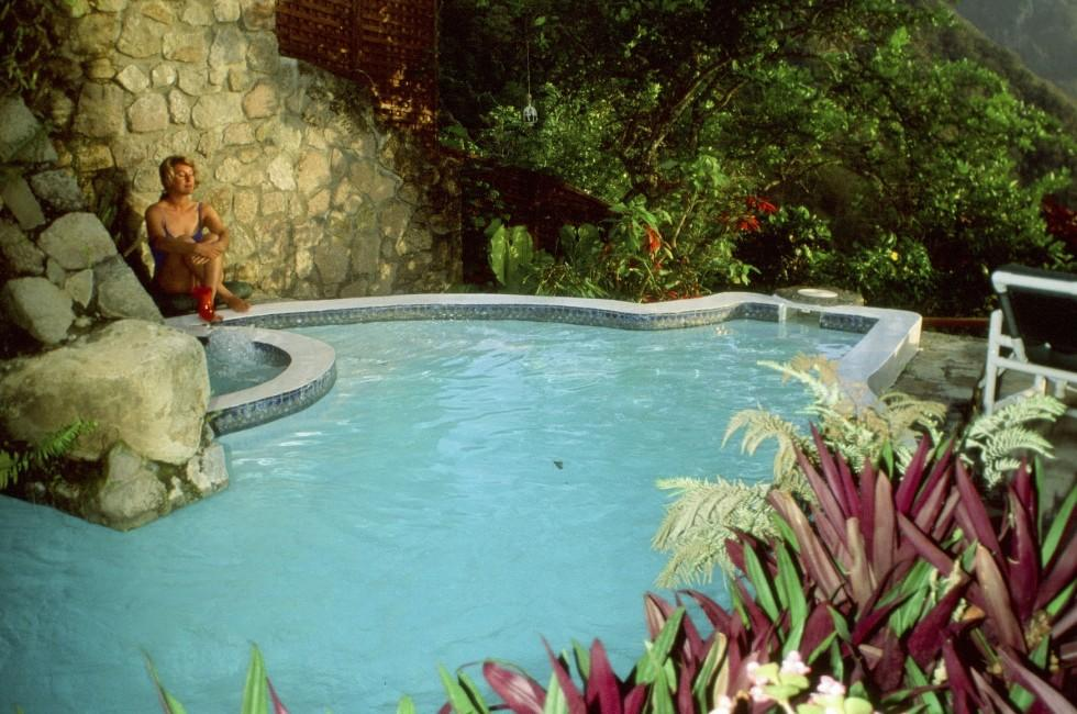 Pool, Ladera Resort, St. Lucia, Caribbean