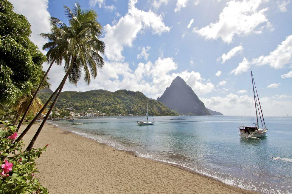 Soufriere, St. Lucia, Caribbean