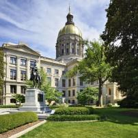Georgia State Capitol Building, Atlanta, Georgia, USA