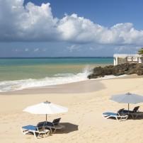Beach, Baie Rouge, St. Martin, Carribean