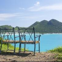Overlook, Philipsburg, St. Maarten, St. Martin and St. Maarten, Caribbean