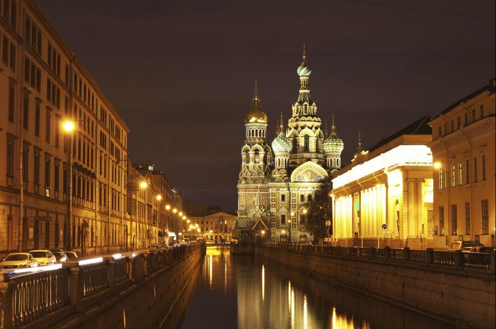 church, St. Petersburg, Russia