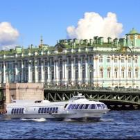 Neva river, St. Petersburg Russia