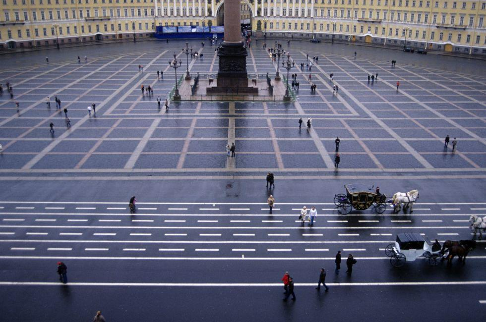 Palace Square, St Petersburg, Russia