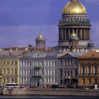 Saint Isaac cathedral in St Petersburg, Russia