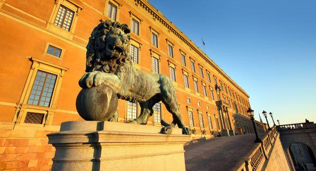 Royal Palace, Old Town, Stockholm, Sweden