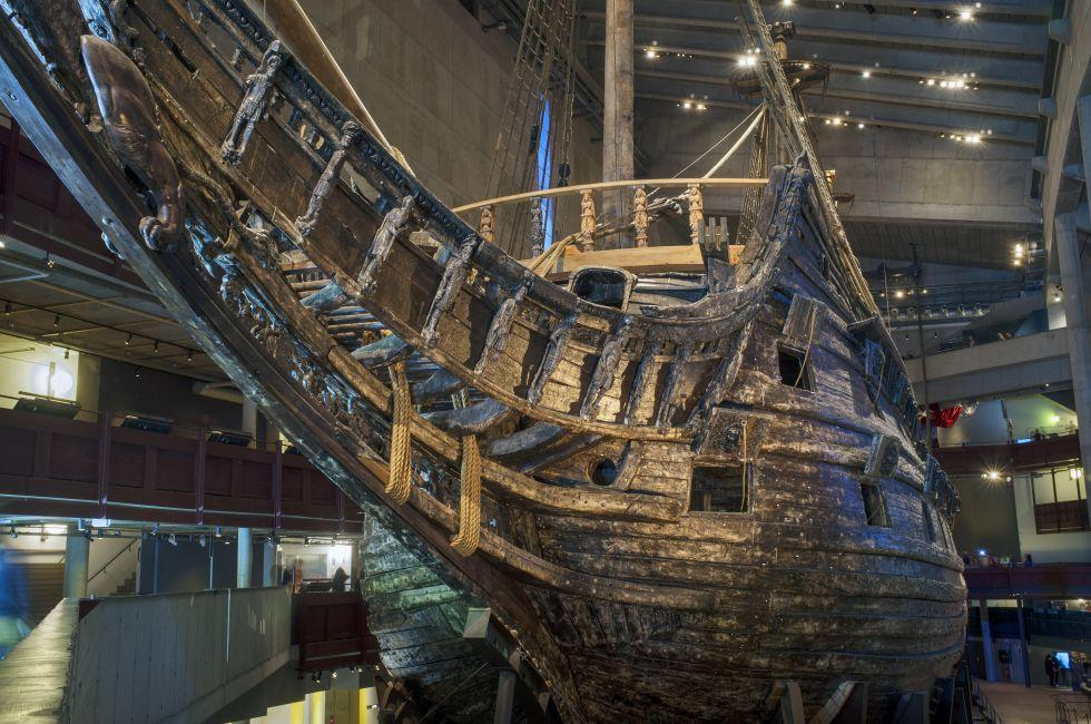 The Vasa Museum, Stockholm, Sweden