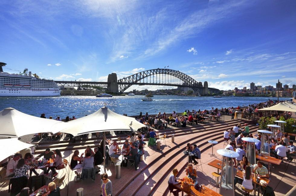 Cruise, Sydney Harbor, Crowd, Sydney, Australia