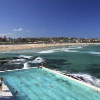 Swimmers, Pool, Bondi Beach, Sydney Australia