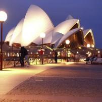 Sydney Opera House, Night, Sydney, Australia